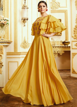 Yellow and Gold Gown