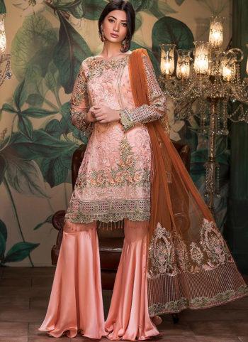 MARYAM'S - Pink Silk