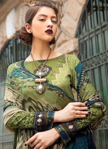 MARIA B  - Olive Green