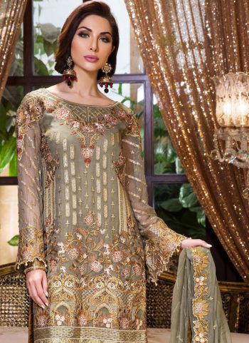MARYAM'S - Floral Gold