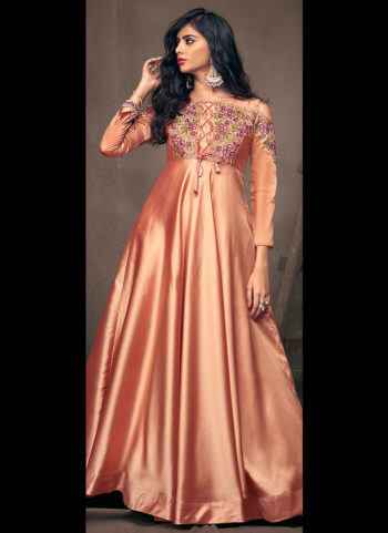 Pech Embroidered Gown