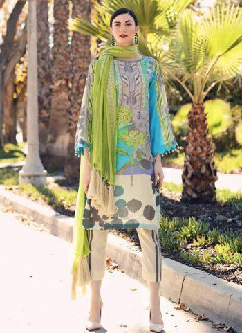 CHARIZMA - Embroidered  Lawn Karandi Collection