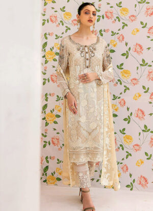 RAMSHA - Minhal Chiffon Collection